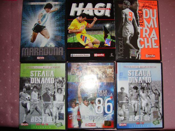Dvd-uri de colectie fotbal, Hagi, Steaua-Dinamo, Finala de la Sevilla