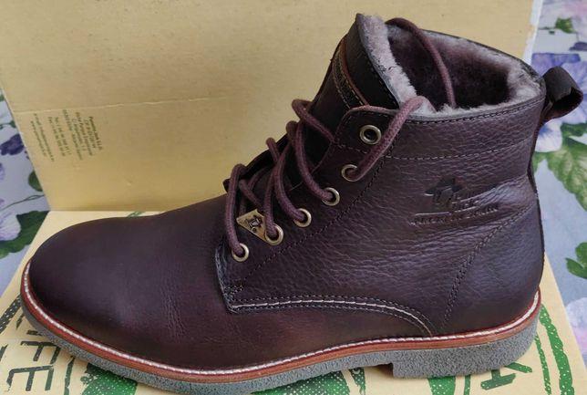 Ботинки Panama Jack Glasgow Igloo C1 41 размер Оригинал  100% кожа/мех
