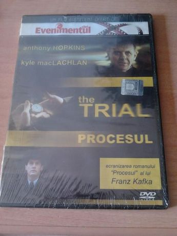 DVD original The Trial (Procesul) nou, sigilat