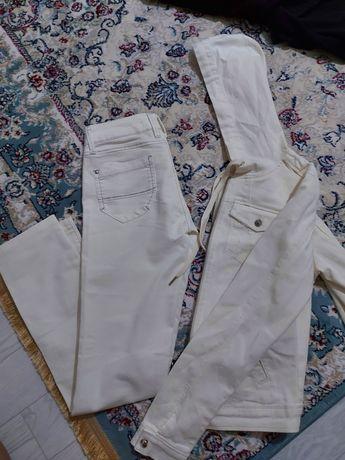 Джинсовка и джинсы двойка