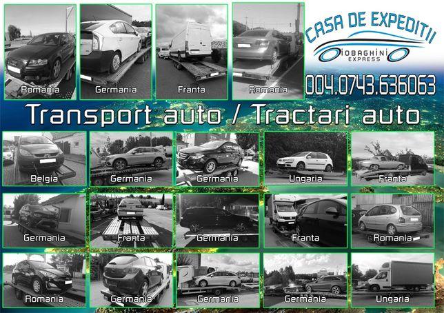 Transport auto din Europa