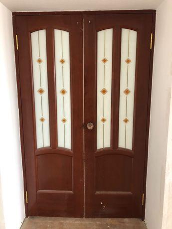 Б/у двери двойные