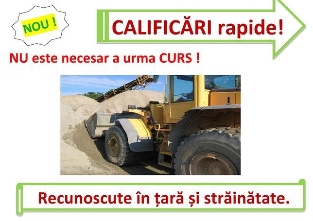Curs RAPID calificare buldoexcavatorist buldozer mecanic utilaje vola