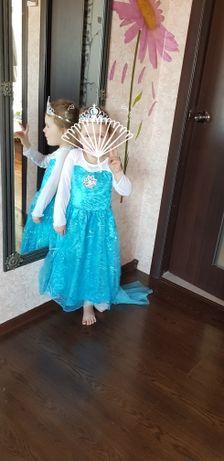 Rochie rochita NOUA printesa (cu eticheta) Elsa Frozen 3, 4 ani