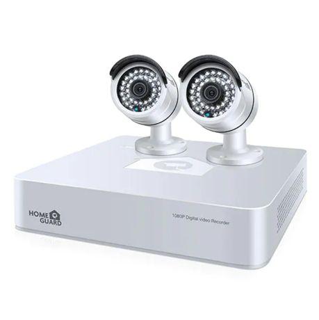 Kit supraveghere video HOMEGUARD Platinum 2 camere Full HD