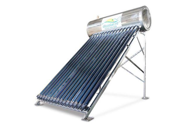PANOUri Solare Apa Calda PRESURIZATe 150L INOX Solar Vidate NOU‼️