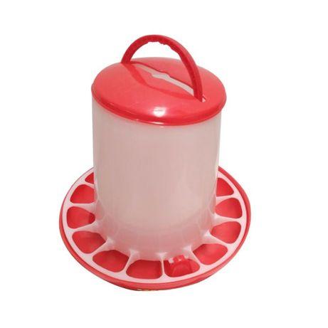 Кормушка пластиковая для кур, уток, индюков и цыплят