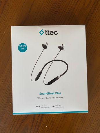 Soundbeat Plus безжични слушалки нови - неизползвани !