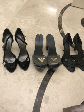 Оригинальная брендовая обувь 3 пары Armani, Givenchy, Marc Jacobs за 3