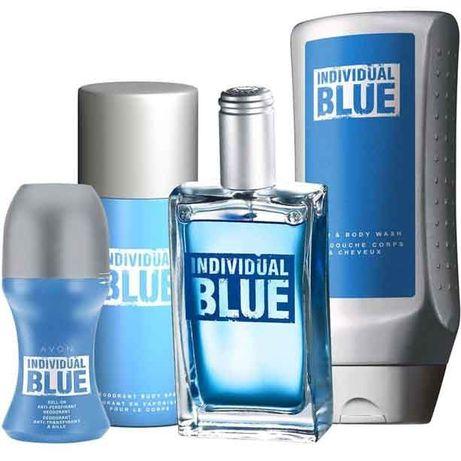 Set Individual Blue AVON 4 produse + pungă de cadouri, , in stoc
