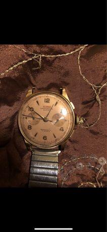 Ceas de mana chronograph 18k