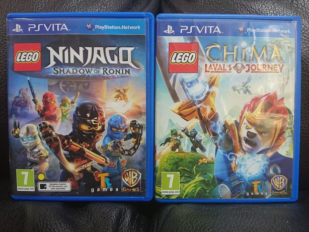 LEGO Ninjago + LEGO Chima Lavals Journey - jocuri PS Vita / PS TV