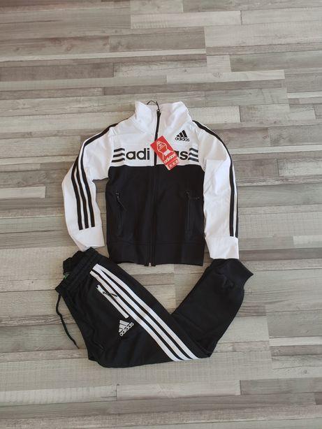 Trening Adidas copii negru alb