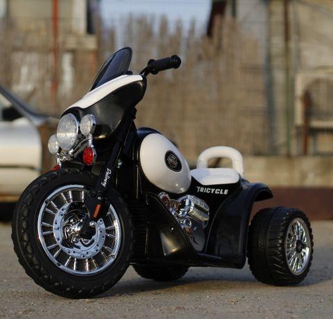 Motocicleta electrica de Politie JT568 cu 3 roti , pt. copil 1-4 Ani