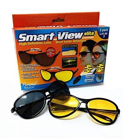 2бр Комплект очила за нощно и дневно шофиране унисекс за мъж жена