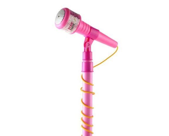 Microfon de jucarie karaoke cu amplificator voce si stativ reglabil