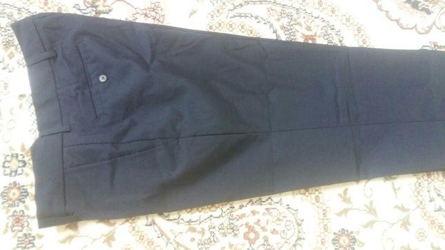 Мужские брюки тёмно синий