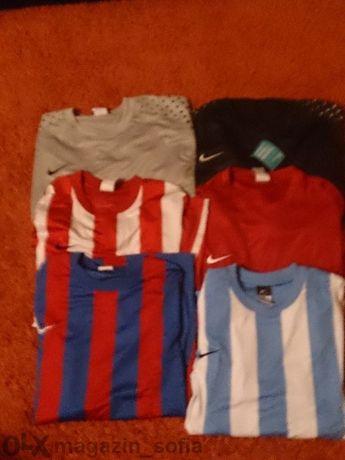 Ликвидация! Продавам оригинални футболни тениски Nike Dry Fit