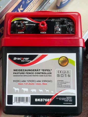 Aparat generator de impulsuri 9-12V sau 220V pt 5 KM kit gardelectric