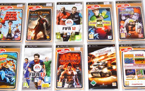 PSP Оригинални игри Playstation Portable ПлейСтейшън игри по 25 лв.