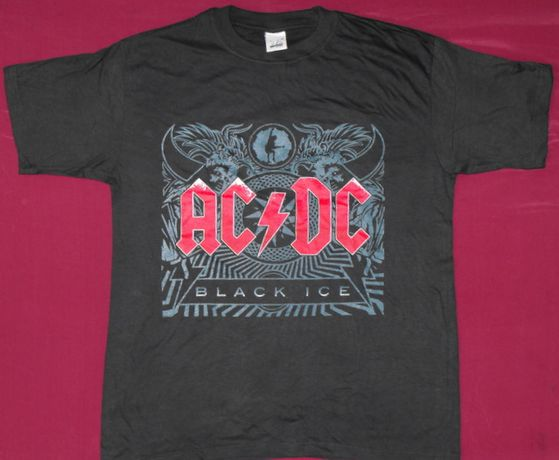 Tricou AC/DC -Highway to HELL,Black Ice,Angus ,dar am si altel