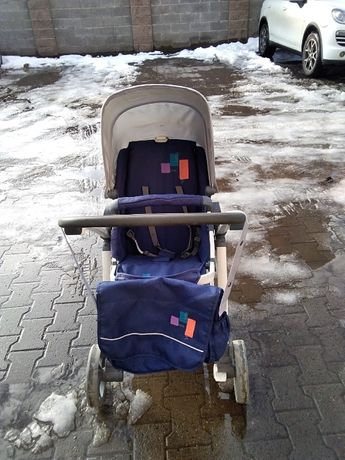 Carucior/ landou bebe pana la 1 an + sport pana la 3 ani pliabil 2 in1
