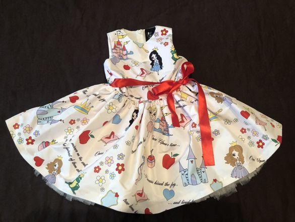 Детска рокля Love made love
