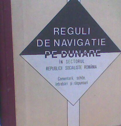 Carte Reguli de navigatie pe Dunare