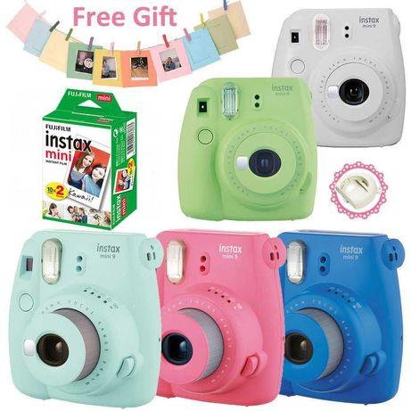 Фотоаппараты Fujifilm instax mini 8, 9, 11, пленки, альбомы, чехлы
