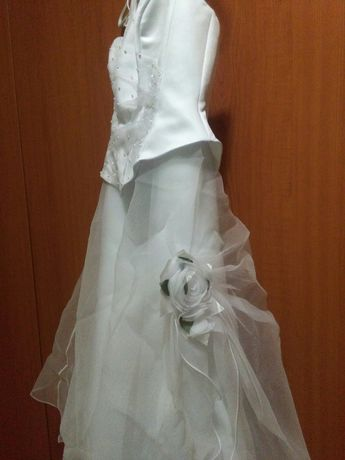 Rochie mireasă albă