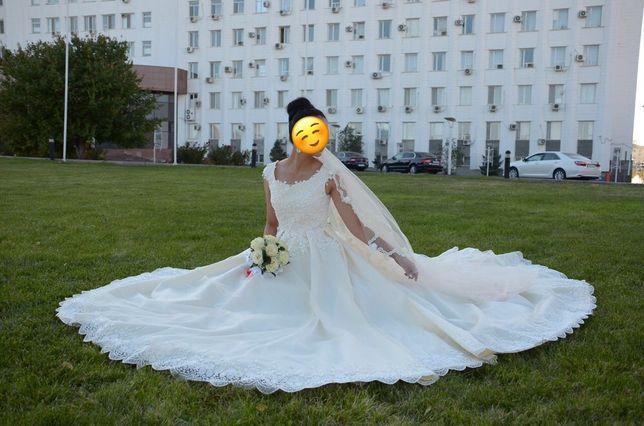 свадебное платье сшитое на заказ