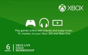 Xbox live 6 lunii