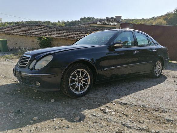 На части!  Mercedes E270 cdi W211 avantgarde седан ЛЯВ ВОЛАН