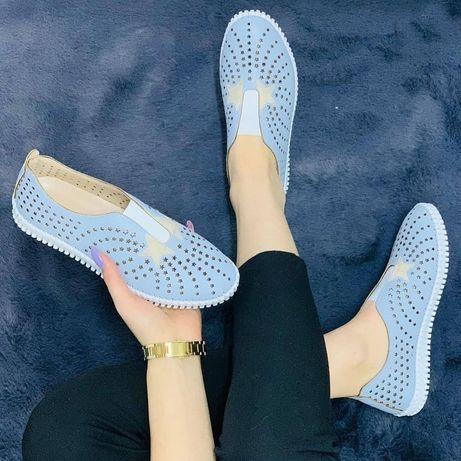 Женская обувь мокасины