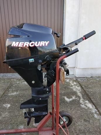 Motor Mercury 9.9HP și barca Quicksilver