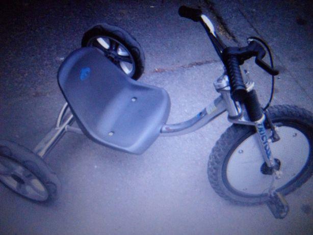 Tricicleta off road, de scheme si tricikart