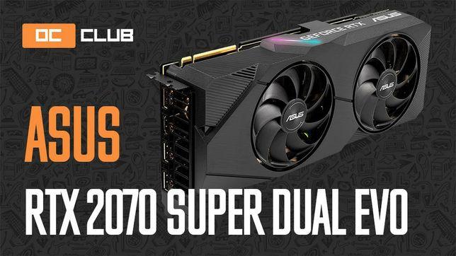 Видеокарта ASUS GeForce 2070 SUPER Dual Evo