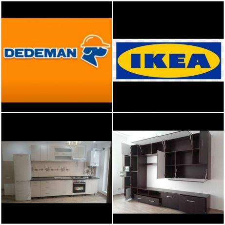Montez/Montaj mobila Ikea , Dedeman, Momax ,Casa Rusu,Bricodepo etc.