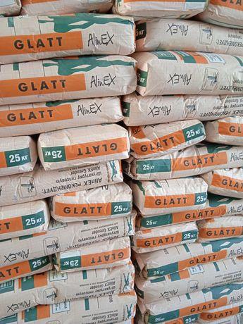Глатт, финиш, ротбанд, фуген, цемент, наливной пол