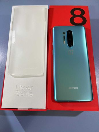 OnePlus 8 PRO 12gb Ram 256 memorie full box glacial green