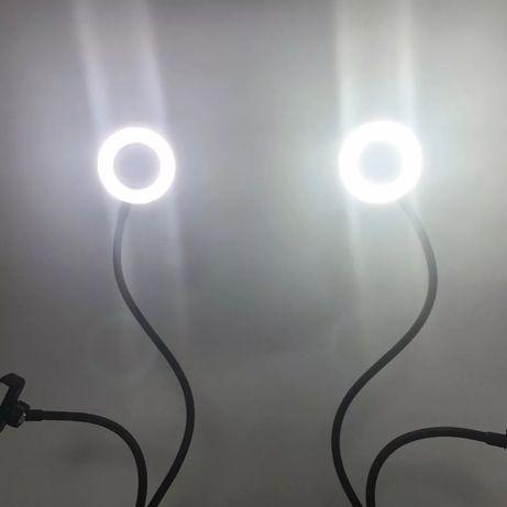 Новинка для блогеров-штатив держатель телефона с освещением