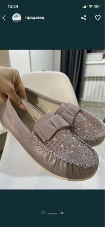 обувь на девочкуновая
