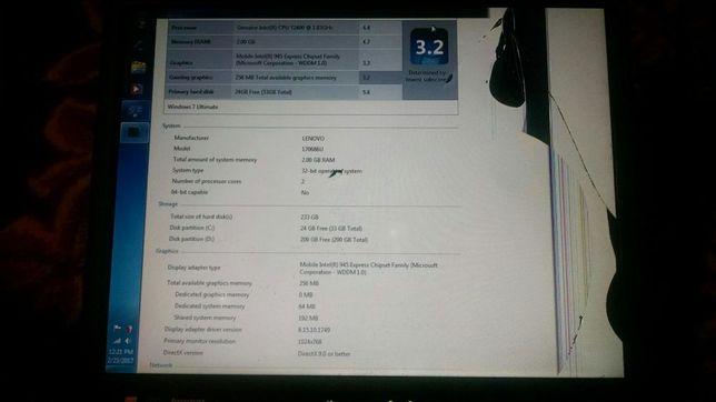 "Dezmembrez Netbook Lenovo IBM X60 12""/T2400 dual core 1.83GHZ/3GB/80GB"