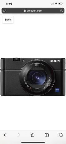 Aparat Foto Sony RX100 V / 24-70mm / sigilat