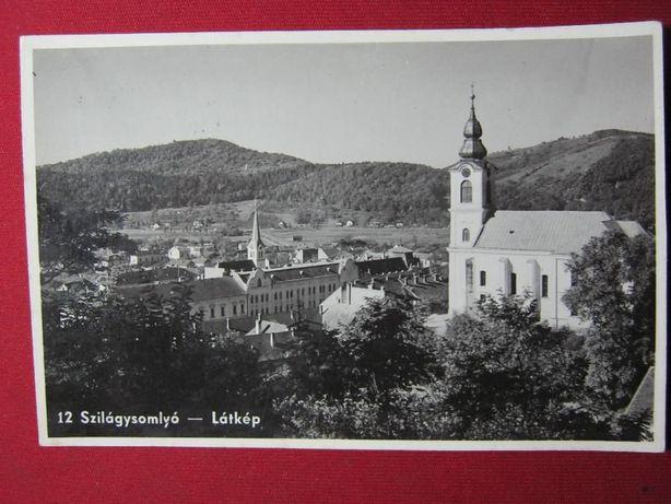Ilustrata veche,foto,Simleul Silvaniei.Szilagysomlyo.