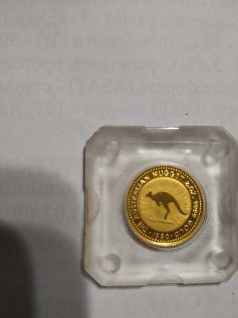 Златна монета Австралийско кенгуру 1/20 oz 1990