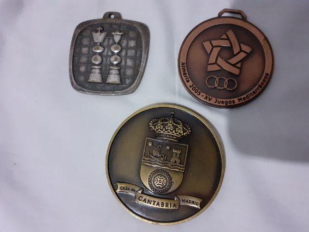 set trei medali vechi