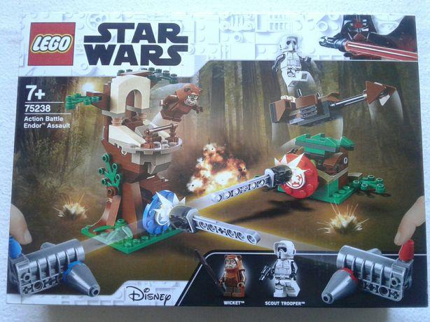 Lego StarWars 75238 nou Atac pe campul de lupta Endor, sigilat
