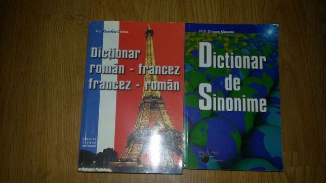 Dictionar roman-francez si unul de sinonime