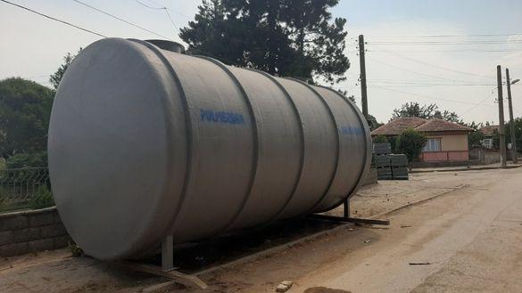 Цистерна за подземен монтаж 50 000л